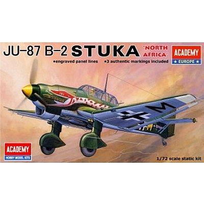 Maquette avion: JU-87B Stuka - Academy-72001
