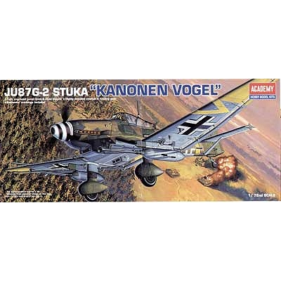 Maquette avion: JU-87G-2 Stuka - Academy-12404