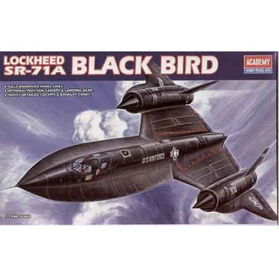 Maquette avion : Lockheed SR71-A Black Bird - Academy-1627