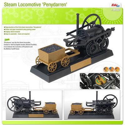 Maquette Edukit: Locomotive à vapeur Penydarren - Academy-E18133