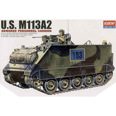 Maquette Char: M-113A2 Weapons Carrier - Academy-1354