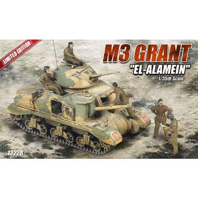 Maquette Char: M3 Grant El Alamein - Academy-13228