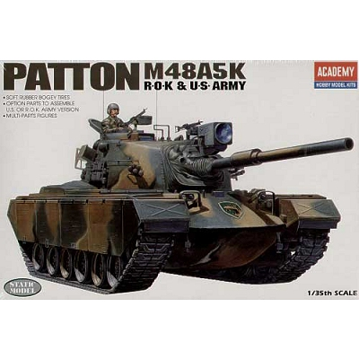 Maquette Char : M48-A5 Patton Tank - Academy-1355