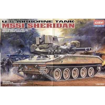 Maquette Char: M551 Sheridan - Academy-13011