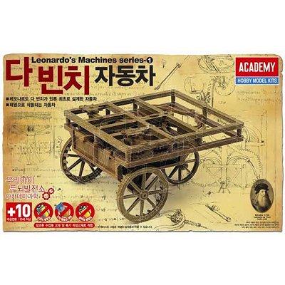 Maquette machine Léonard de Vinci: Chariot auto-propulseur - Academy-18129