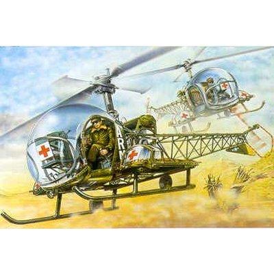 Maquette hélicoptère: MASH H-13 Sioux - Academy-2194