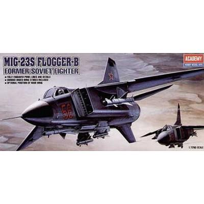 Maquette avion: MIG-23S Flogger B - Academy-1621