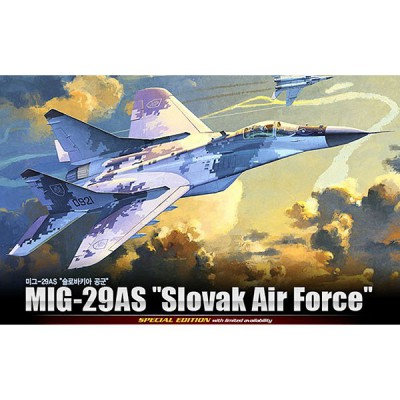 Maquette avion: MIG-29 AS Slovaq Air Force - Academy-12227
