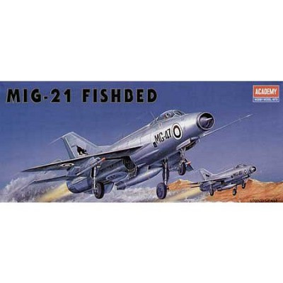 Maquette avion: Mikoyan MiG-21 Fishbed - Academy-1618
