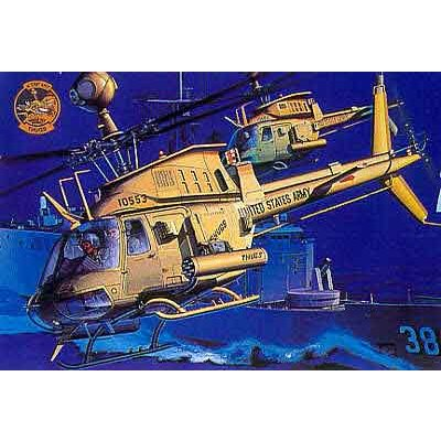 Maquette hélicoptère : OH-58D Warrior Thungs - Academy-2197