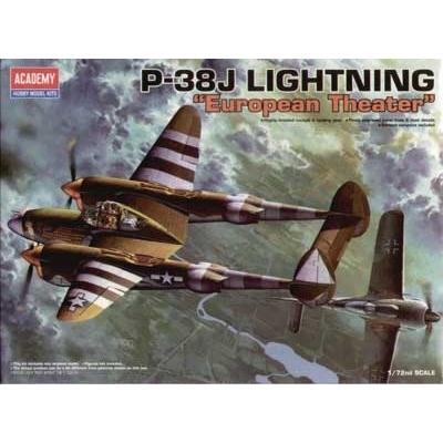 Maquette avion: P-38J Lightning - Academy-12405