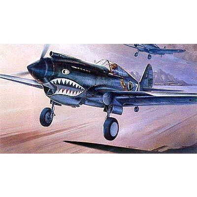 Maquette avion: P-40C Tomahawk - Academy-2182