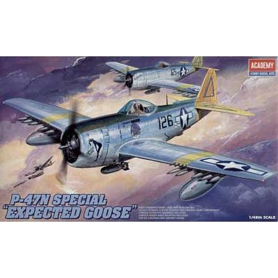 Maquette avion : P-47N Thunderbolt Expected Goose - Academy-2206