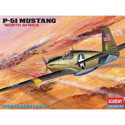 Maquette avion: P-51 Mustang - Academy-12401