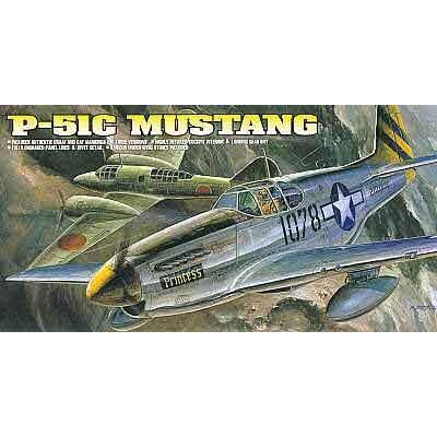 Maquette avion: P-51C Mustang - Academy-1616
