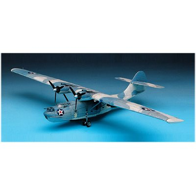 Maquette avion : PBY-4 Catalina - Academy-2136