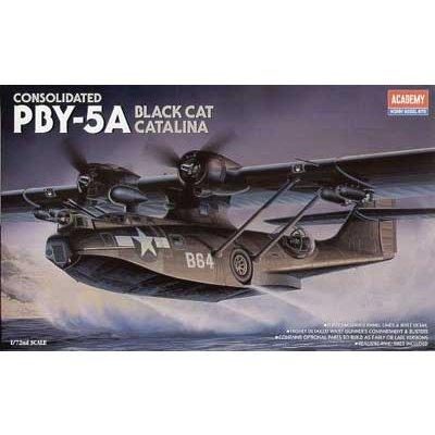 Maquette avion: PBY-5A Black Cat - Academy-2137
