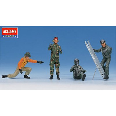 Figurines militaires: Pilotes US Aircraft - Academy-32001