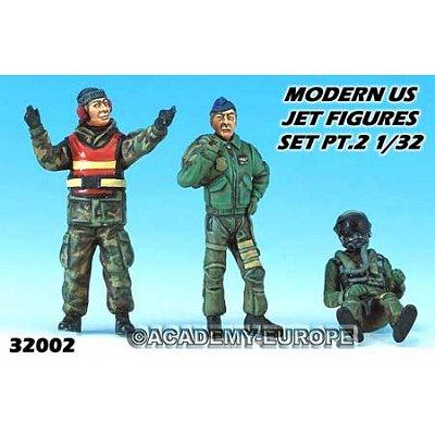 Figurines militaires: Pilotes US modernes - Academy-32002