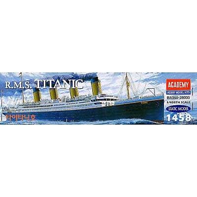 Maquette bateau: R.M.S. Titanic 1/400 - Academy-1458