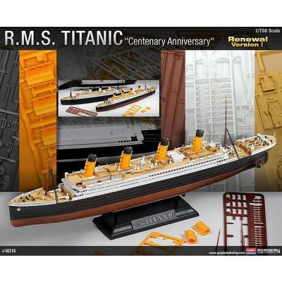 Maquette bateau: R.M.S. Titanic Centenary - Academy-14214