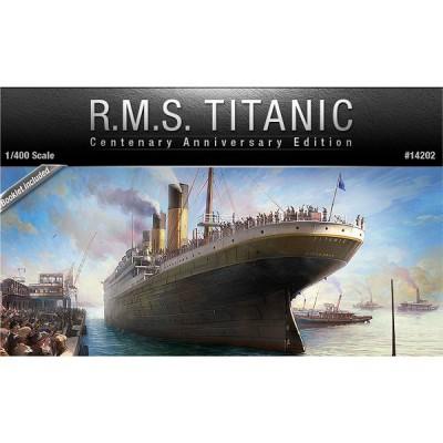 Maquette bateau: R.M.S. Titanic: Edition du Centenaire 1/400 - Academy-14202
