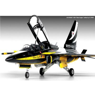 Maquette avion: ROKAF T-50B Black Eagles - Academy-12242