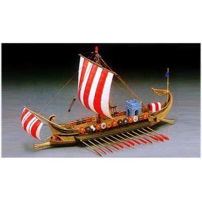 Maquette bateau: Navire de guerre romain  50 av. JC - Academy-1401
