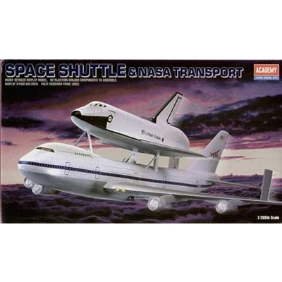 Maquette navette: Space Shuttle & NASA Transport - Academy-1640