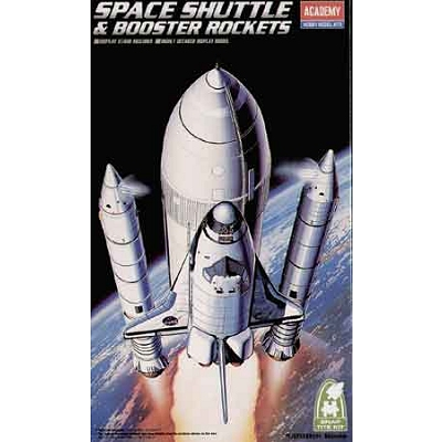 Maquette navette: Space Shuttle & Booster Rockets - Academy-1639