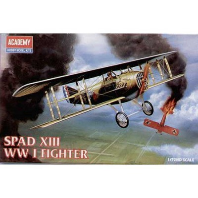 Maquette avion: Spad XIII WWI Fighter - Academy-1623