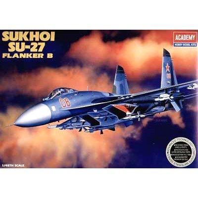 Maquette avion: Sukhoi SU-27 Flanker B - Academy-2131