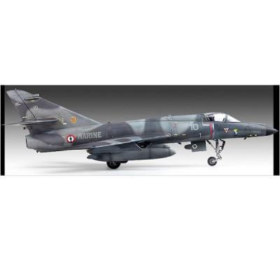 Maquette avion: Super Etendard Charles de Gaulle Flotille 17F - Academy-12431