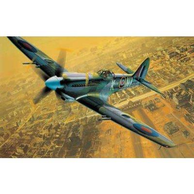 Maquette avion: Supermarine Spitfire MK XIV E - Academy-2161