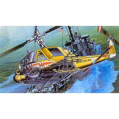 Maquette hélicoptère: UH-1C Huey Frog - Academy-2196