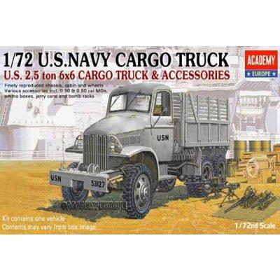 Maquette Camion US Navy 6x6 2,5t avec accessoires - Academy-72002