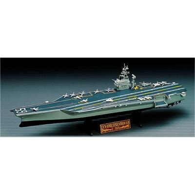 Maquette bateau: Porte-avions USS Eisenhower - Academy-1440