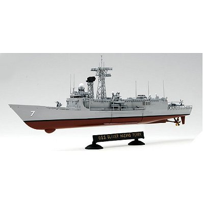 Maquette bateau: USS Perry FFG-7  - Academy-14102