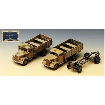Maquette German Cargo Truck : Early and Late - Academy-13404