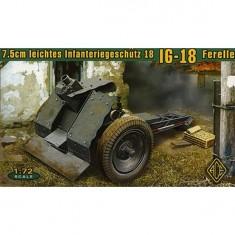 Maquette Canon allemand 7.5cm Leichtes Infanteriegeschütz 18 (IG 18)