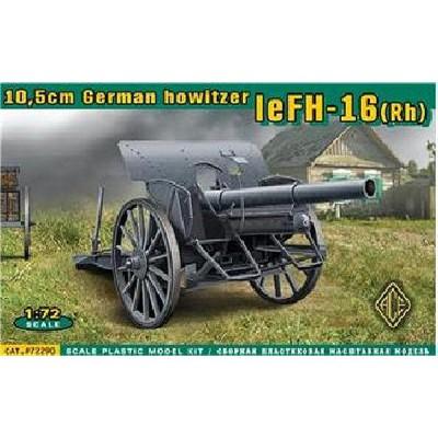 Maquette Canon de campagne allemand de 10.5cm leFH-16 (Rh) - Ace-ACE72290