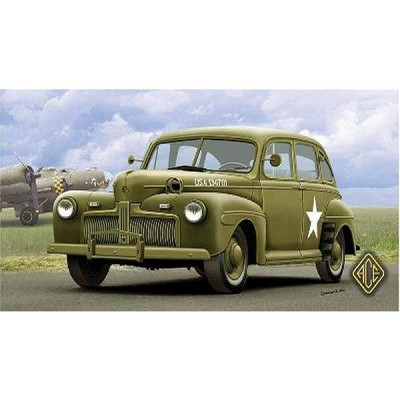 Maquette Ford Fordor US ARMY Staff Car Model 1942 - Ace-ACE72298