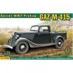 Maquette Pickup soviétique GAZ-M-415