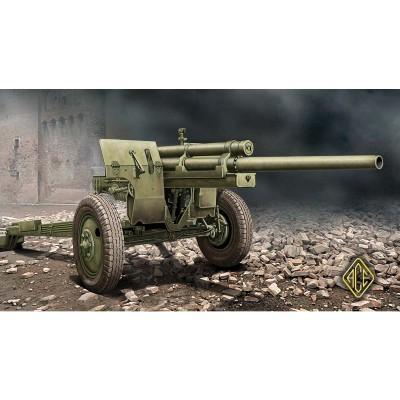 Maquette 1/72 : Canon antichars US 3 pouces M-5 sur système de transport M-1 - Ace-ACE72528