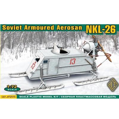 Maquette Aéroglisseur soviétique NKL 26 - Ace-ACE72515