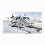 Maquette aéroglisseur sur skis soviétique NKL 16/41 1942
