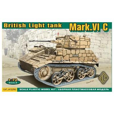 Maquette char : Char léger britannique MARK.VI C - Ace-ACE72292