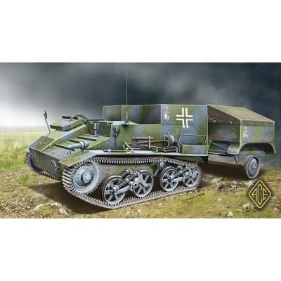 Maquette char 1/72 : Munitionspanzer Mk.VI 736(e) - Ace-ACE72520