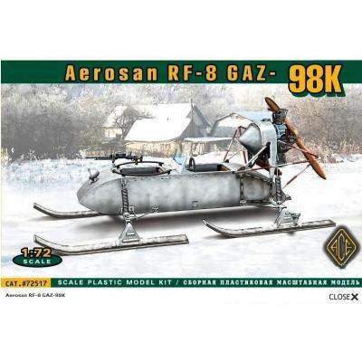 Maquette Matériel Militaire : Aerosan RF-8 Gaz 98K - Ace-ACE72517