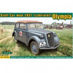 Maquette Olympia staff car model 1937